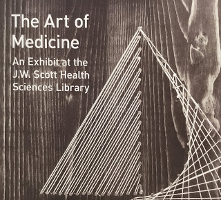 The Art of Medicine - an exhibit at the JW Scott Health Sciences Library