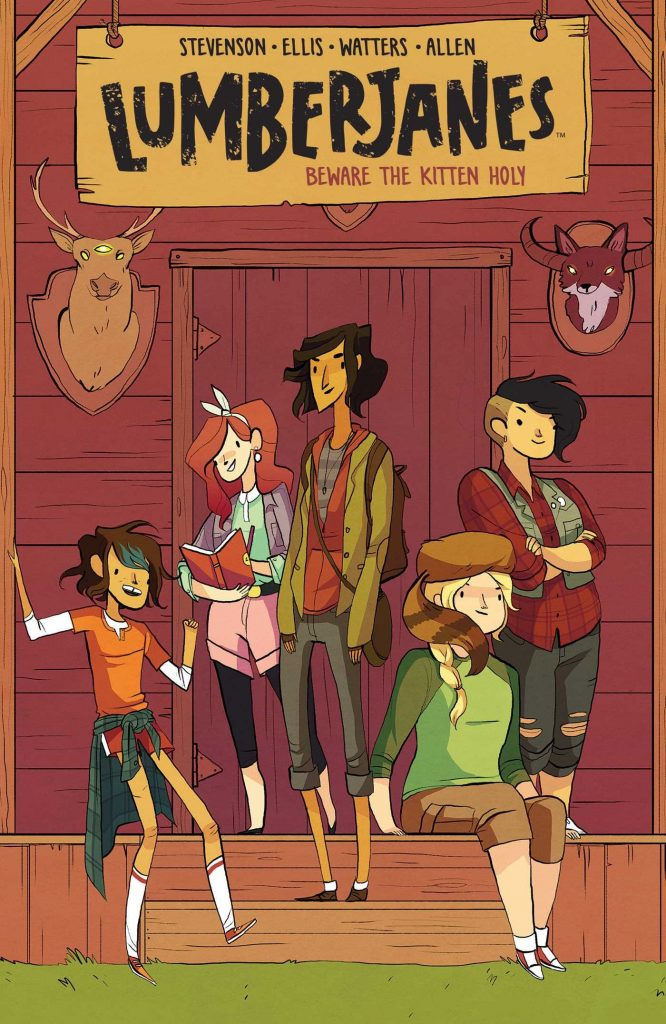 Cover of Lumberjanes