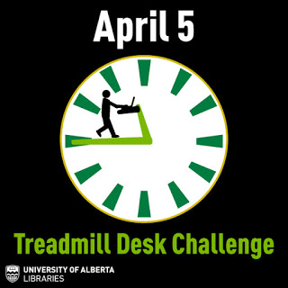 April 5 - Treadmill desk challenge