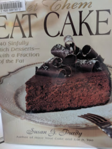 Book cover of Eat Cake.