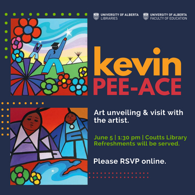 Kevin Pee-Ace, Art unveiling and visit with the artist, June 5 2018