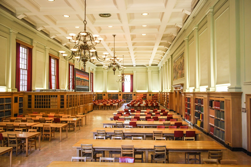 Rutherford Reading Room aka the Harry Potter Room