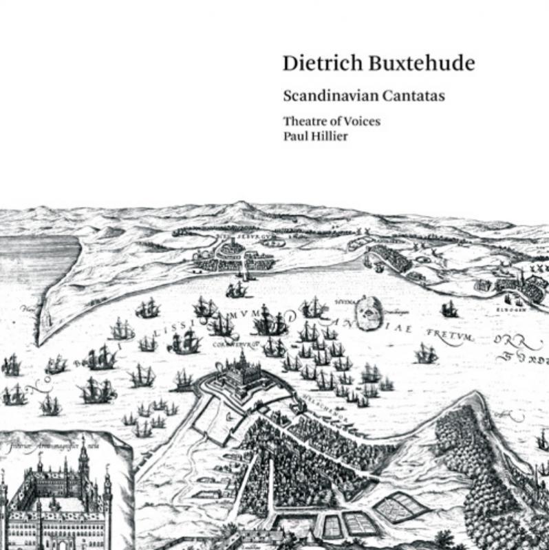 Album cover for Deitrich Buxteude Scandinavian Cantatas